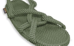 Handmade in the U.S.A, Gurkee's vegan-friendly soft sandals include a contour shape that hugs the feet.