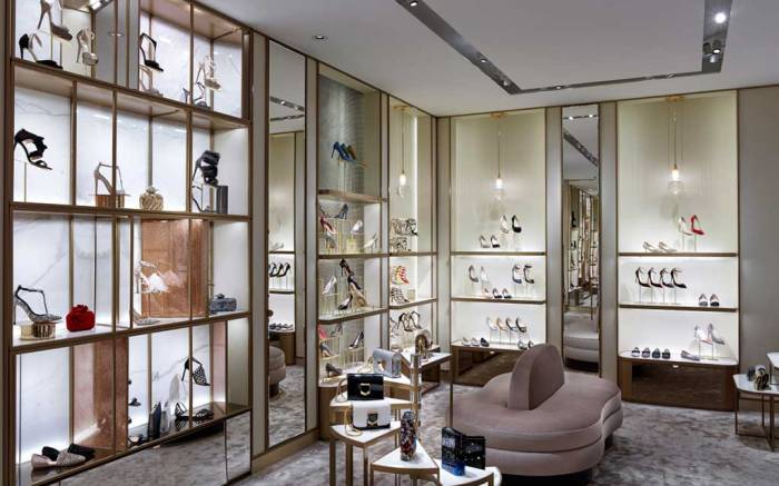 The new Jimmy Choo boutique in Milan