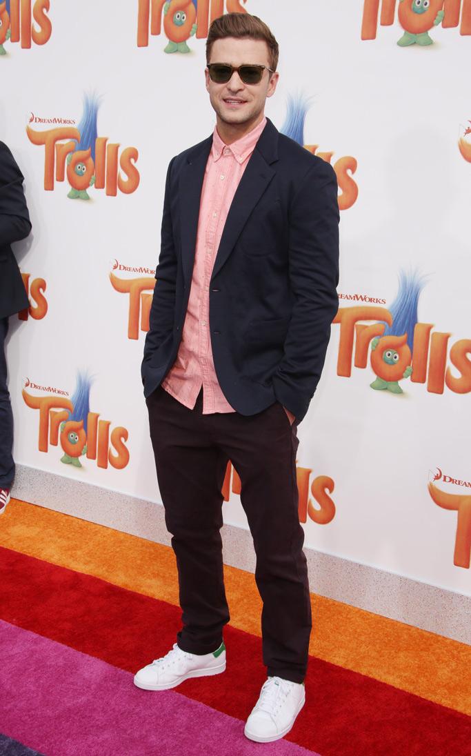Justin Timberlake Celebrity Sneaker Style
