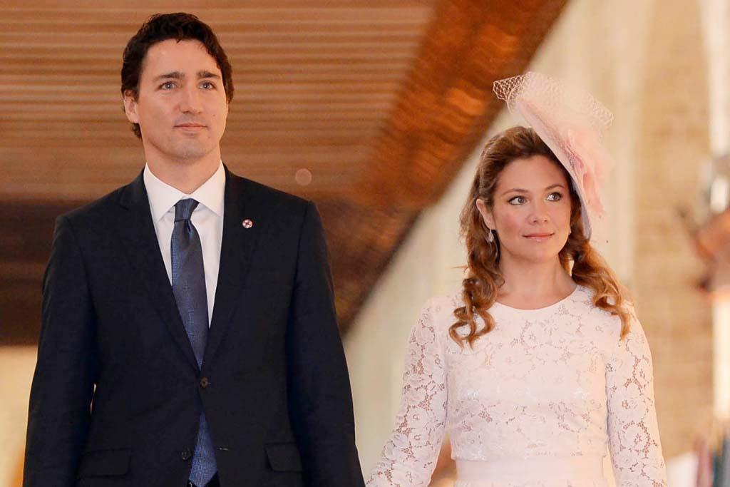 Canadian First Lady Sophie Trudeau Made These Nude Pumps A Success Footwear News