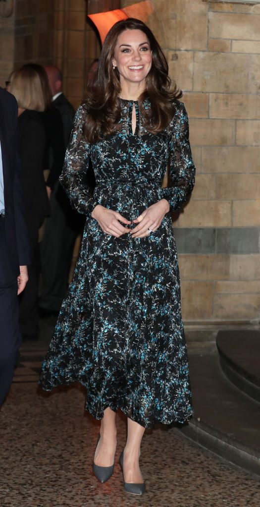 The Duchess of Cambridge earlier on Tuesday.