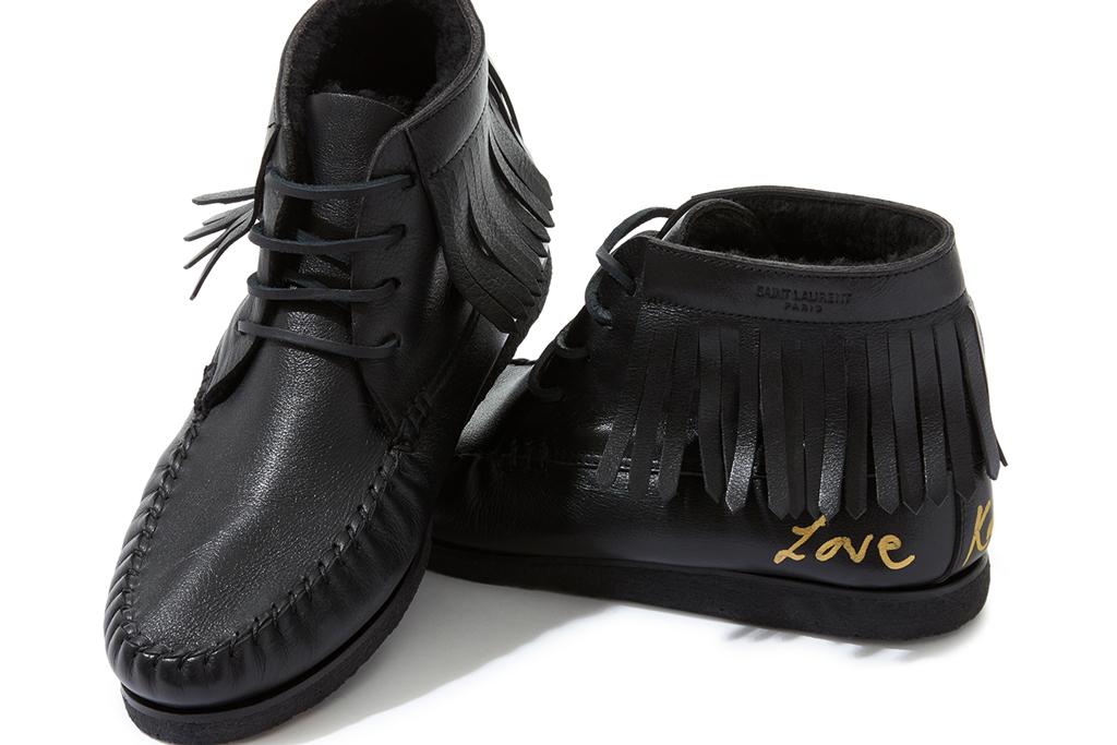 Kate Moss Saint Laurent Boots