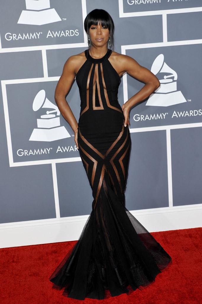 kelly rowland grammy dress