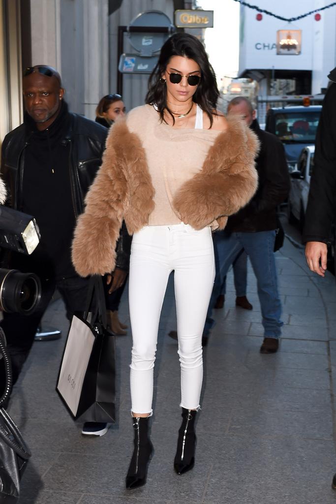 Gigi Hadid Kendall Jenner Paris Victoria's Secret