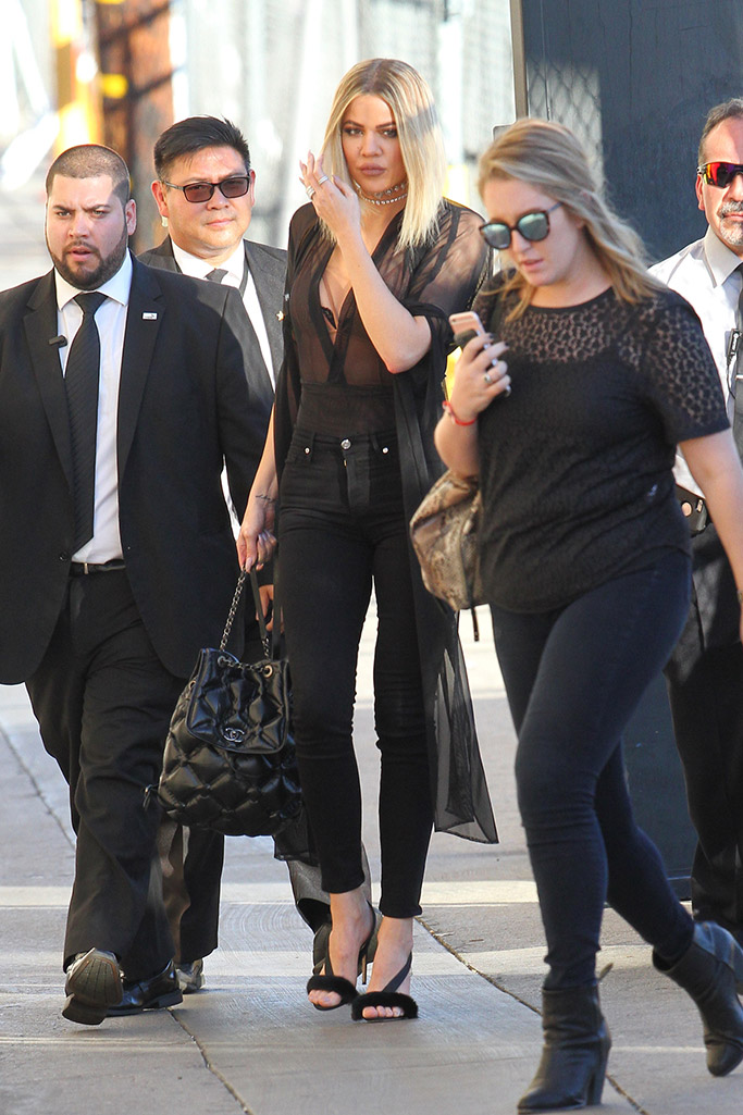 Khloe Kardashian in Olgana Paris