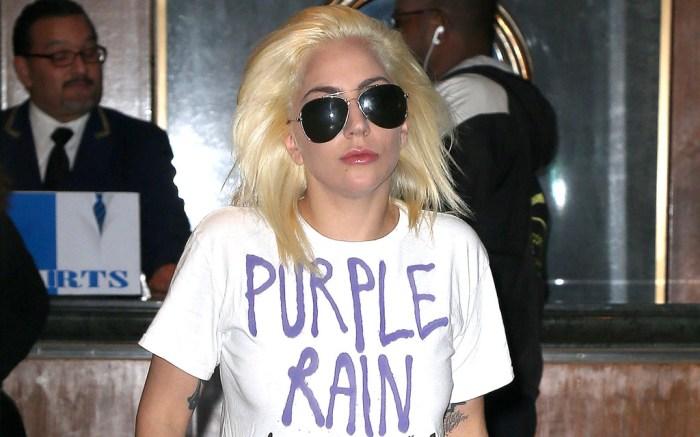 Lady Gaga Purple Rain Shirt