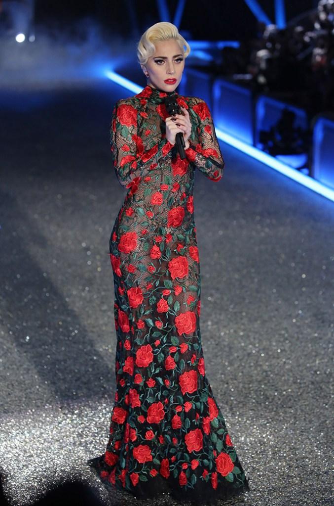 Lady Gaga Style Victoria's Secret Fashion Show