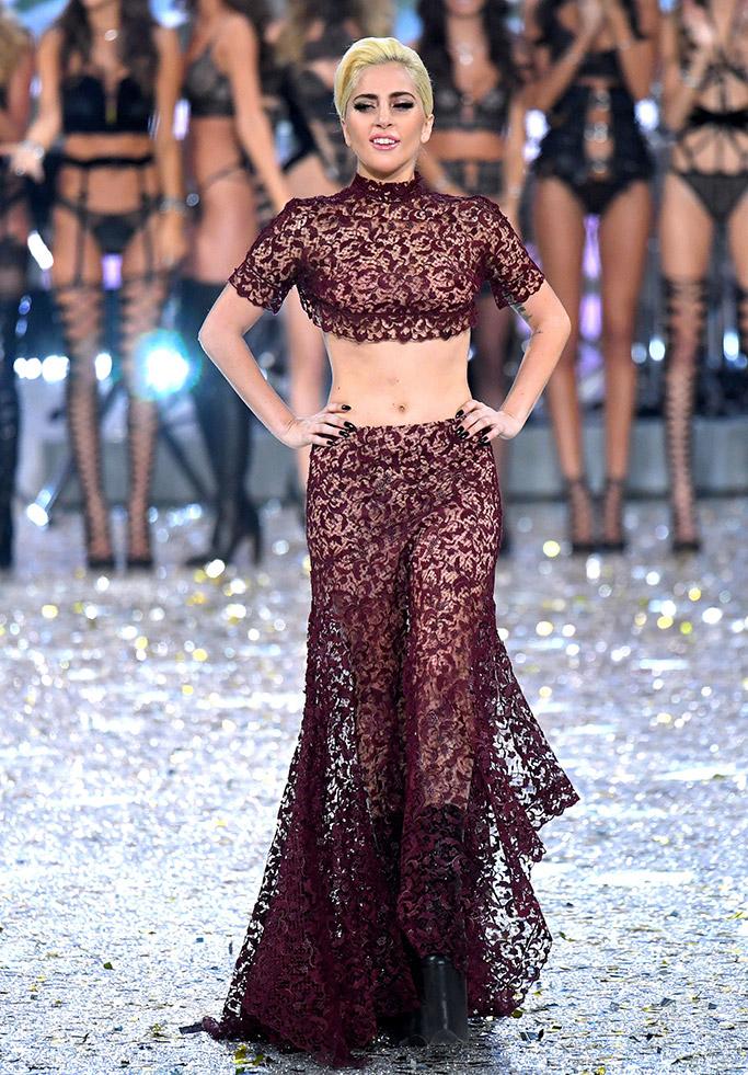 Lady Gaga Style Victoria's Secret Show