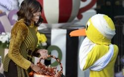 Michelle Obama Halloween Event