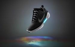 Nike HyperAdapt 1.0 black white blue