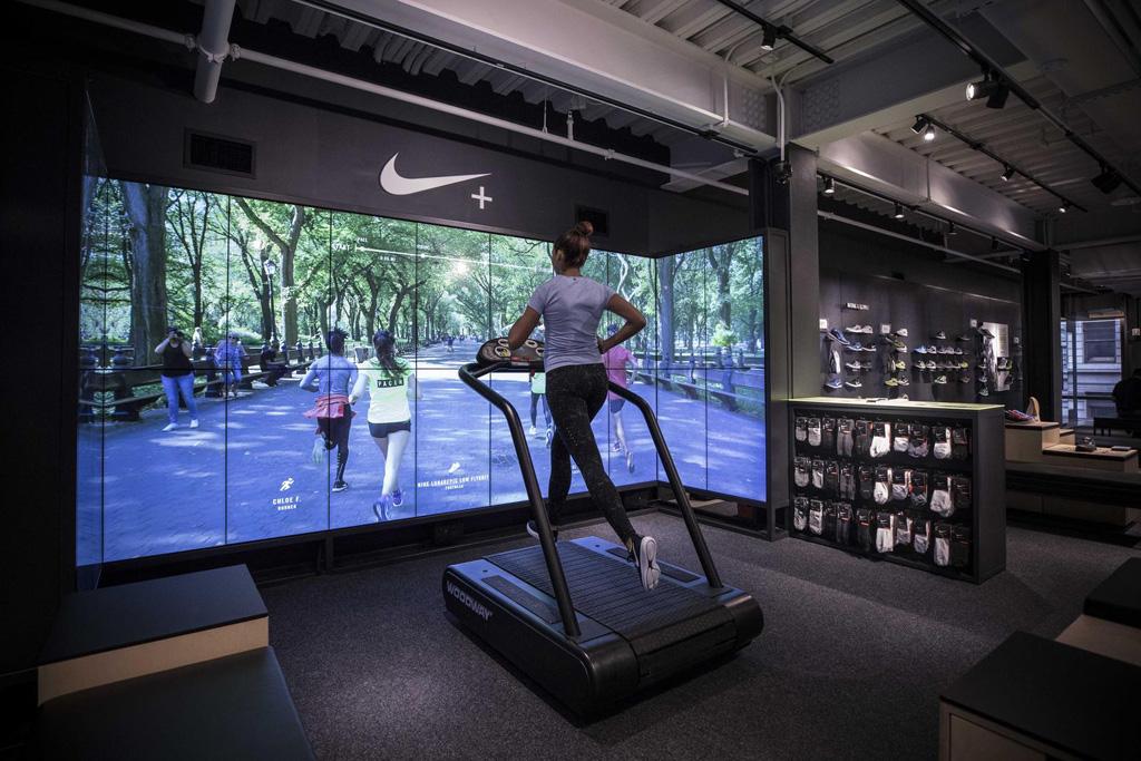 Soho NYC Nike+ Running Trial Zone
