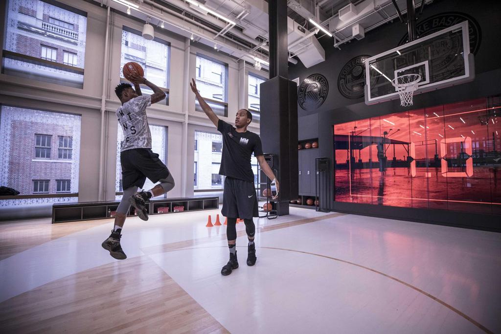 Soho NYC Nike+ Basketball Trial Zone