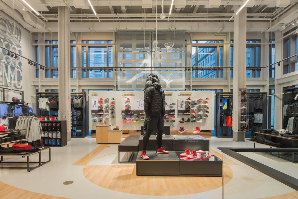 Nike Basketball Soho NYC