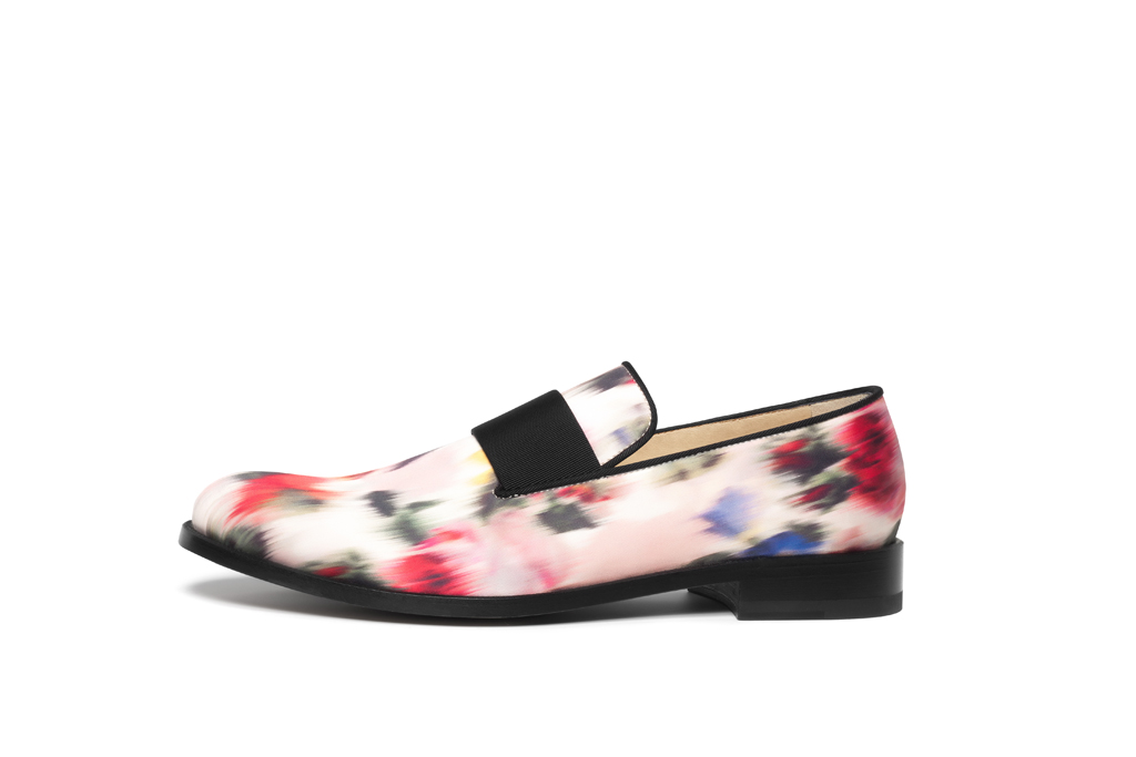 paul andrew floral loafer