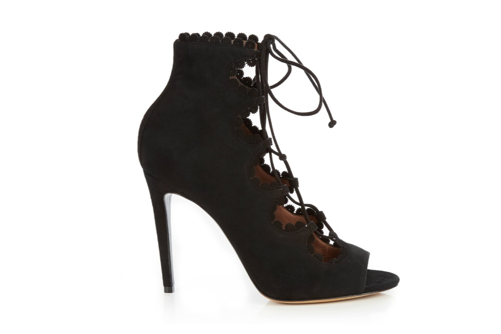 Tabitha Simmons Lace Up Pumps