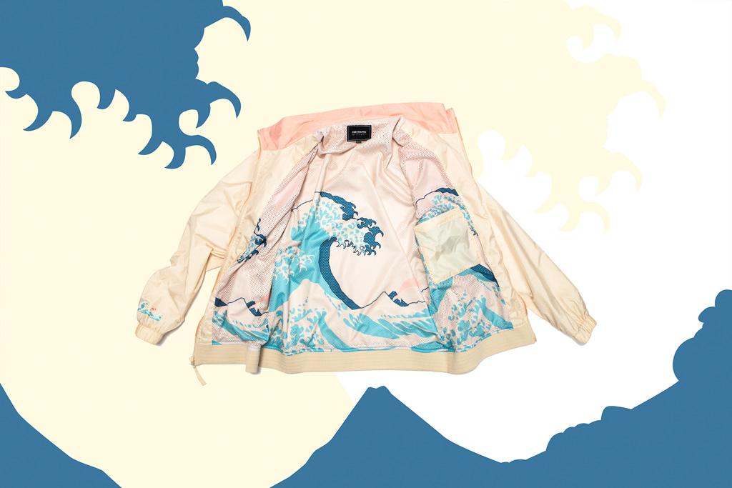 "Pink Dolphin x Brooks Heritage ""Great Wave"" Regent"
