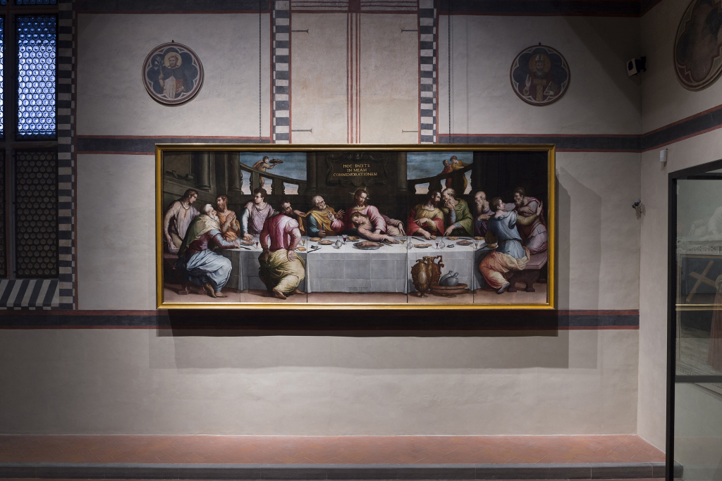 """Vasari's """"Last Supper"""" part funded by Prada"""