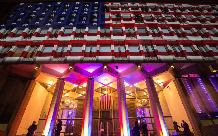 American Embassy in London