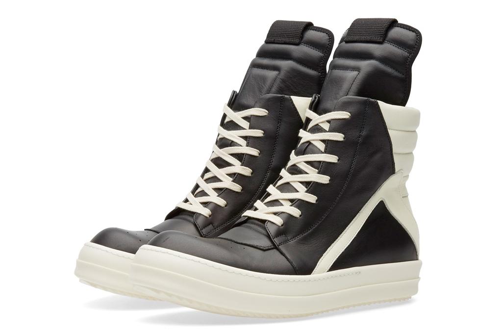 Rick Owens Zip Geobasket Sneaker