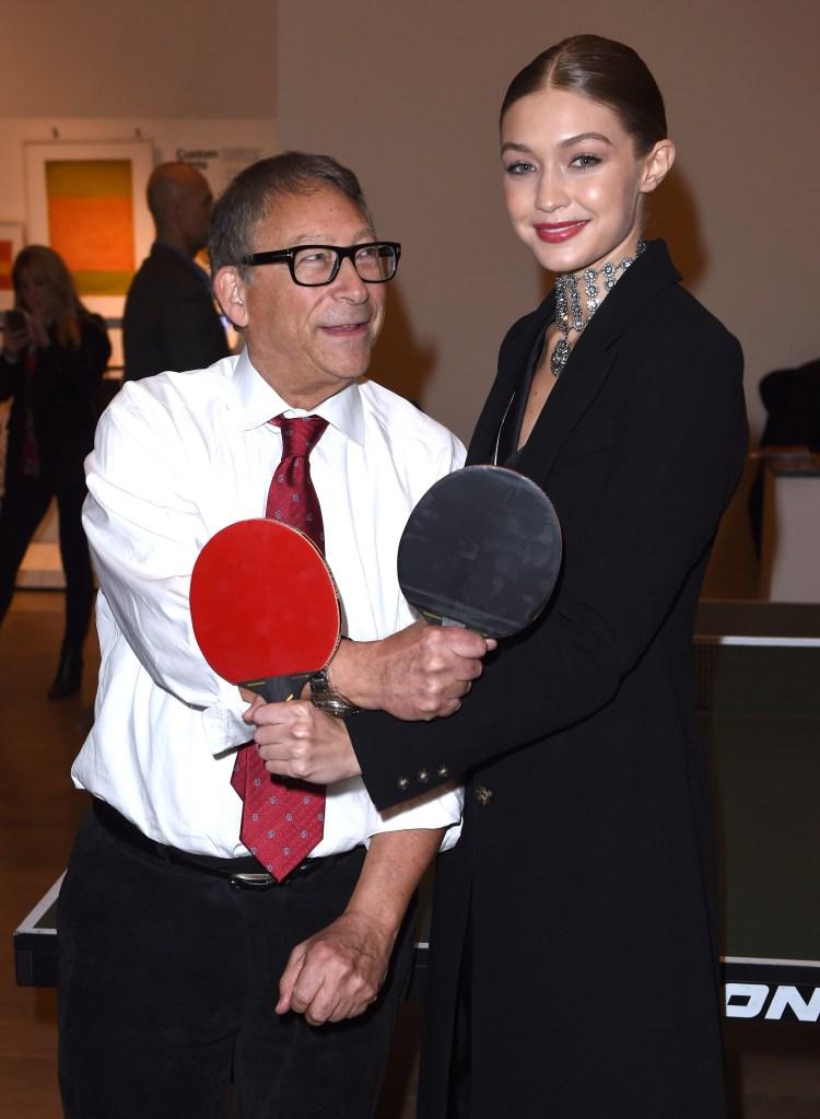 Stuart Weitzman and Gigi Hadid