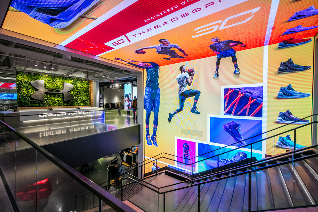 Under Armour Boston Brand House