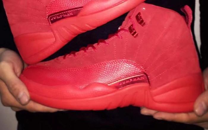 """Air Jordan 12 """"All-Red"""""""
