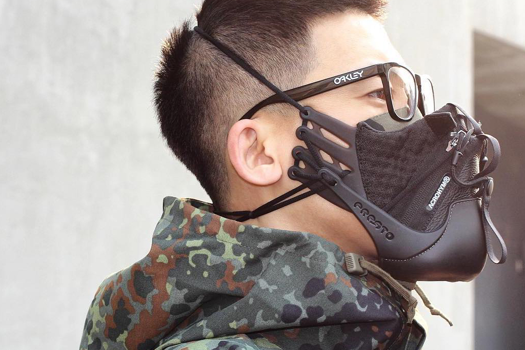 Acronym x Nike Air Presto Face Mask