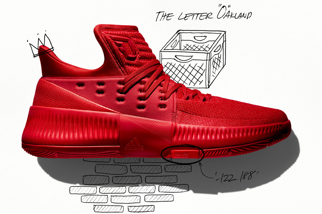 Adidas Dame 3 Roots