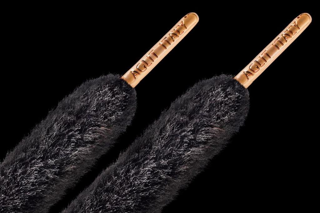 Aglit Black Fur Lux Gold