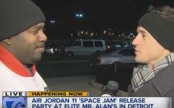 air jordan space jam sneakers