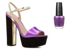 Sandals and Nail Polish
