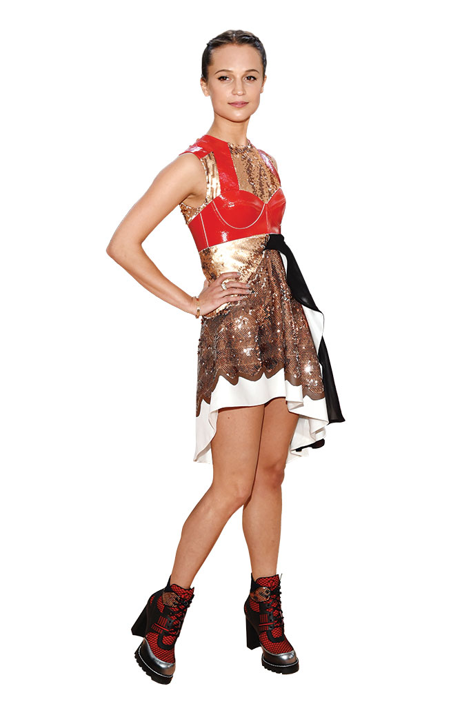 Alicia Vikander Shoe Style