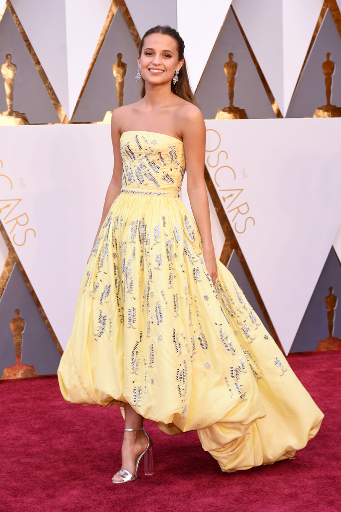 Alicia Vikander Red Carpet Shoes Style 2016