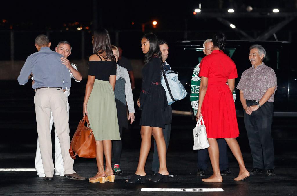 michelle obama vacation hawaii