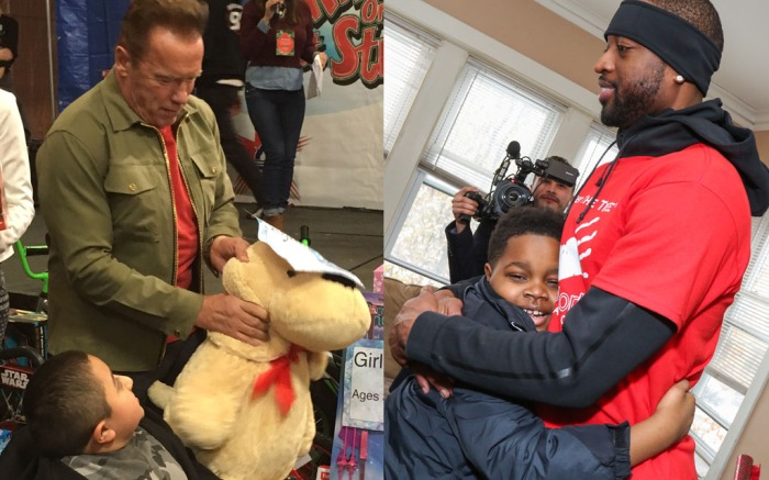 Arnold Schwarzenegger charity