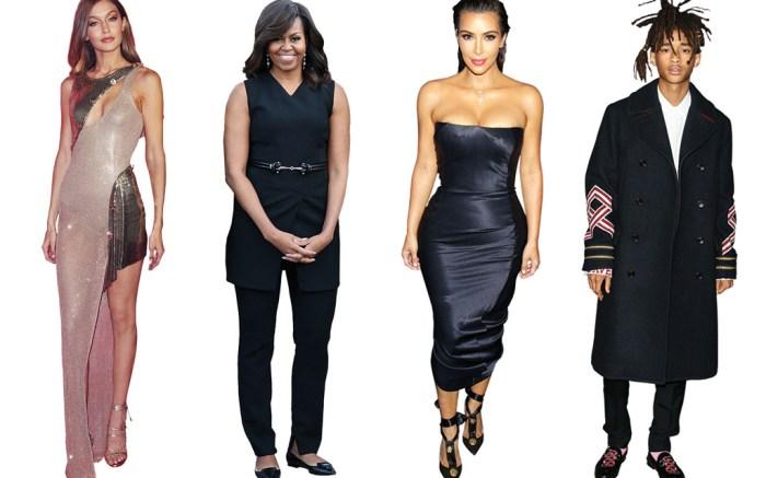 Best Dressed Celebrities 2016