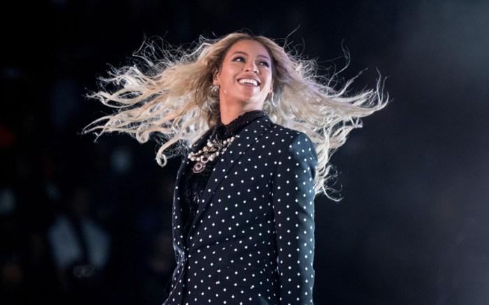 Beyoncé Hillary Clinton Rally