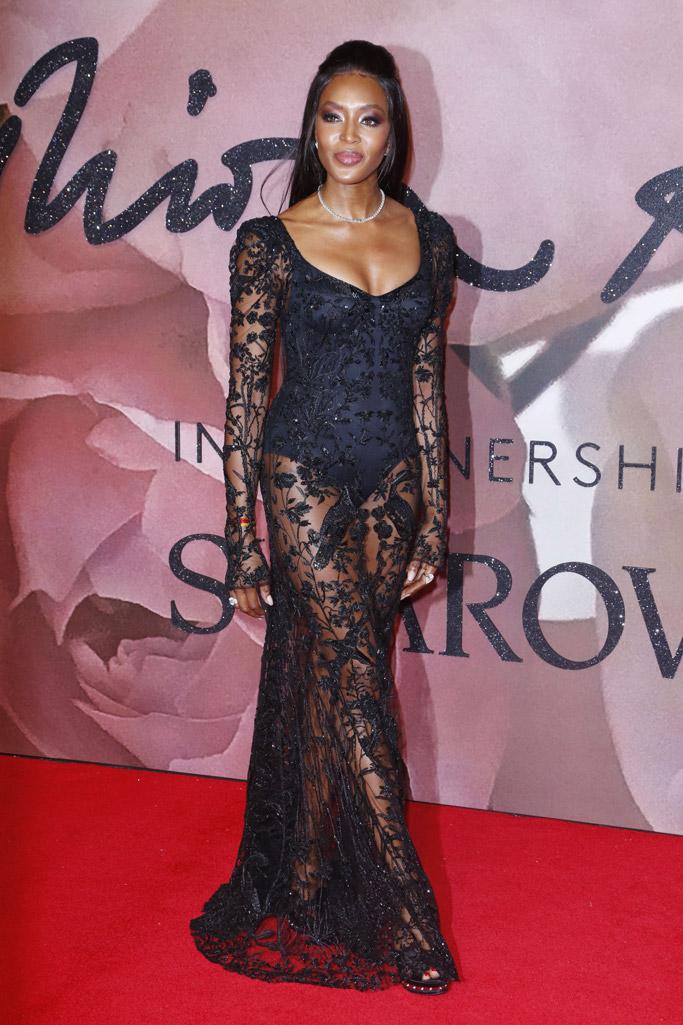 Naomi Campbell Naomi Campbell British Fashion Awards 2016