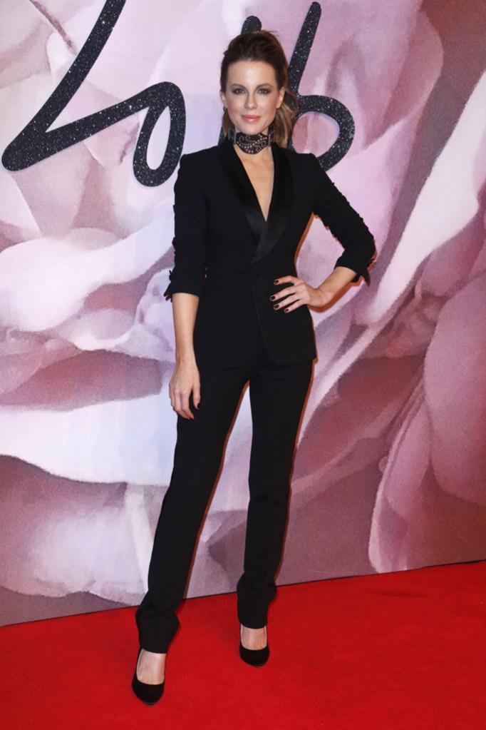 Kate Beckinsale British Fashion Awards 2016