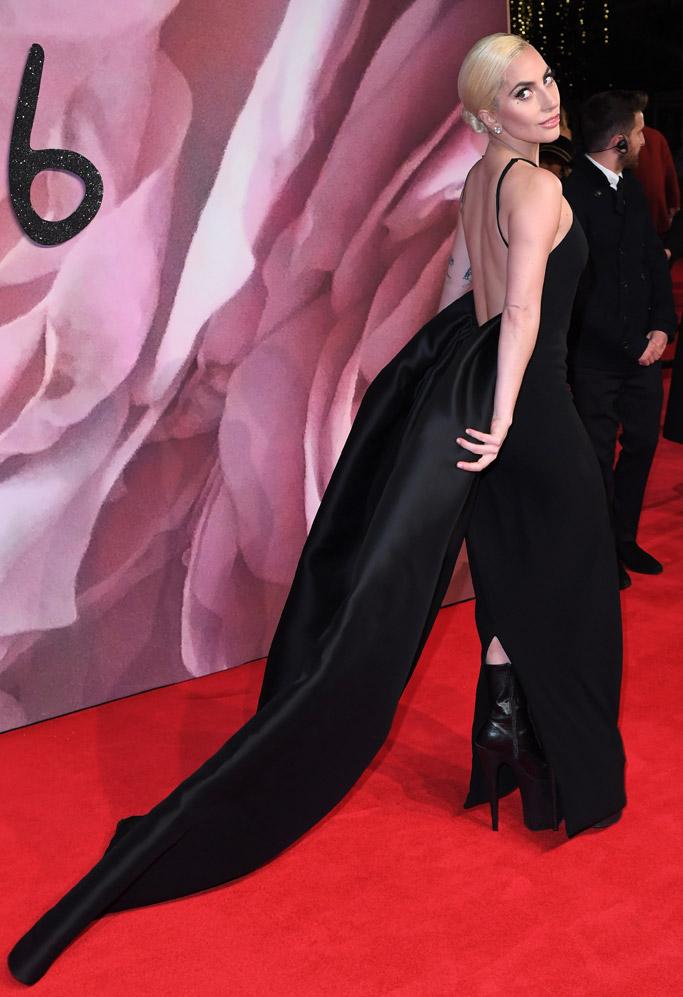 Lady Gaga British Fashion Awards 2016