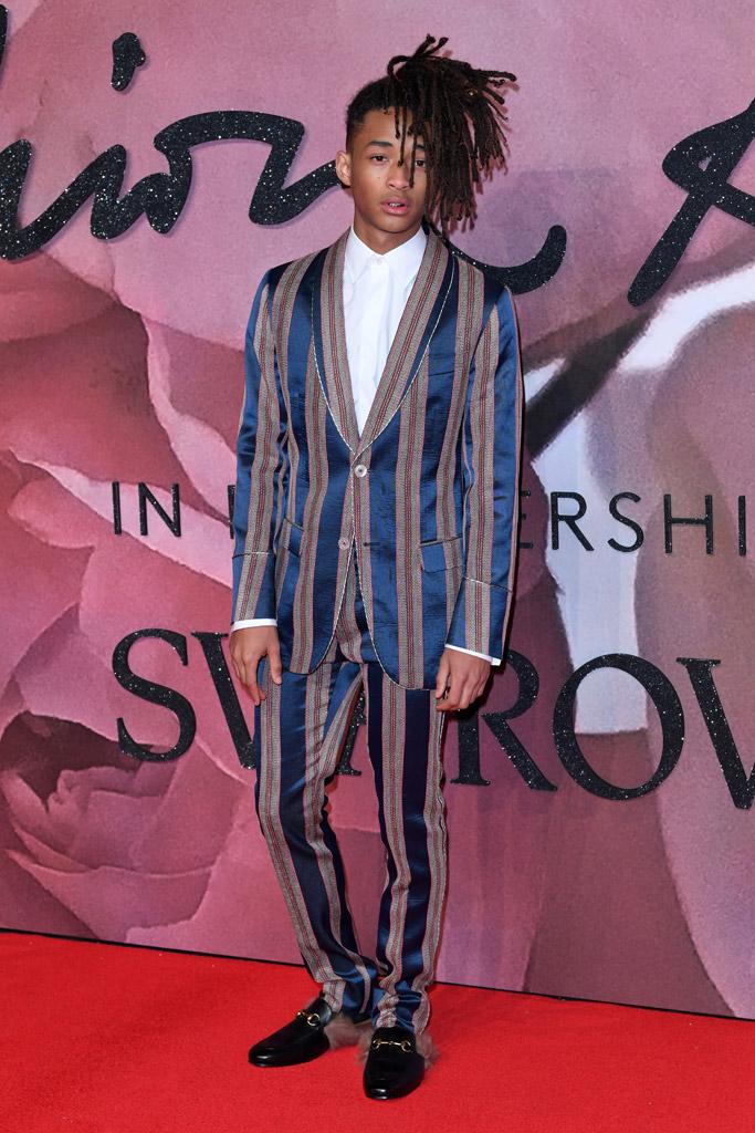 Jaden Smith British Fashion Awards 2016