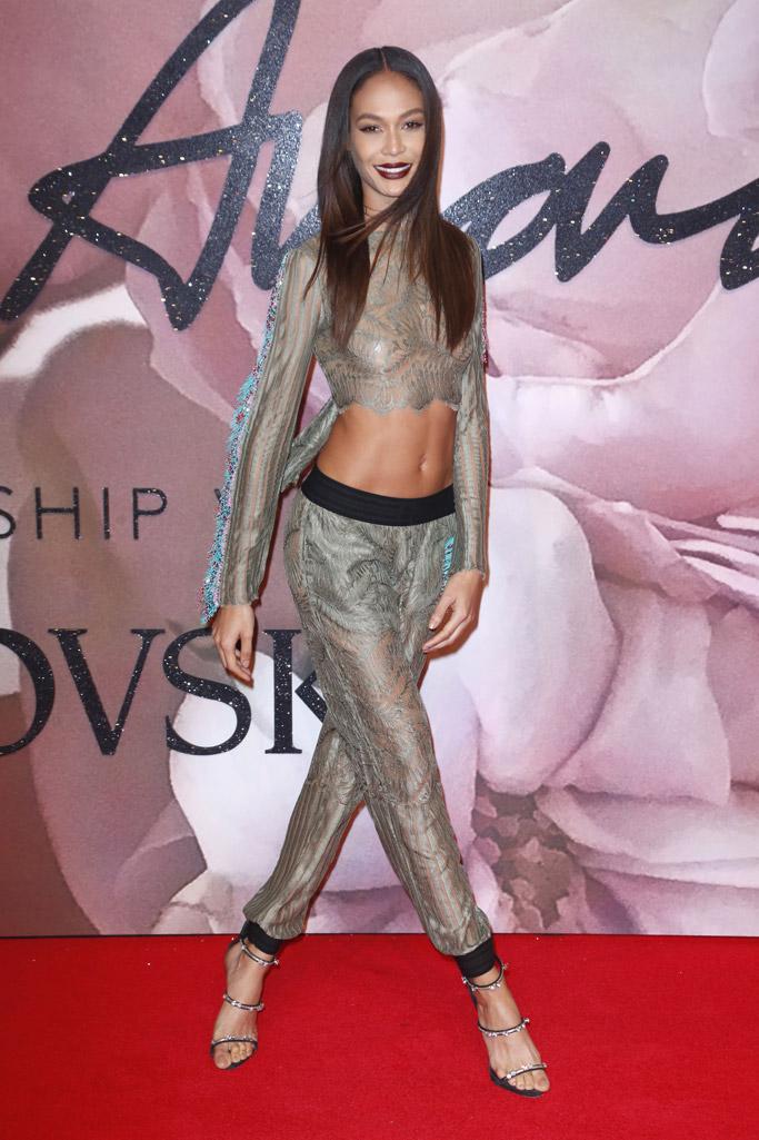 Joan Smalls British Fashion Awards 2016