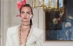 Cara Delevingne, Chanel Metiers d'Art.