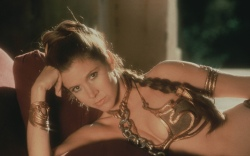 Carrie Fisher Star Wars Style