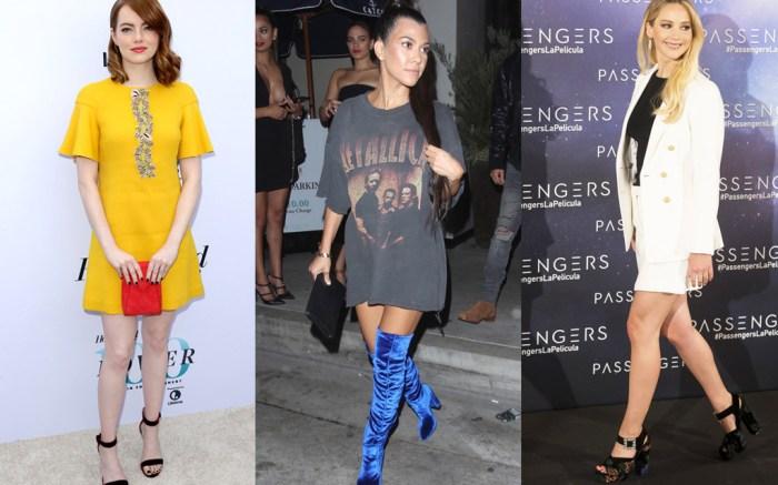 Celebrities Velvet Shoes