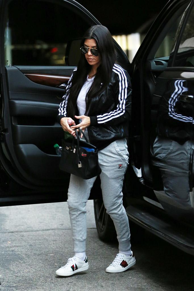 Kourtney Kardashian Celebrity Shoe Style