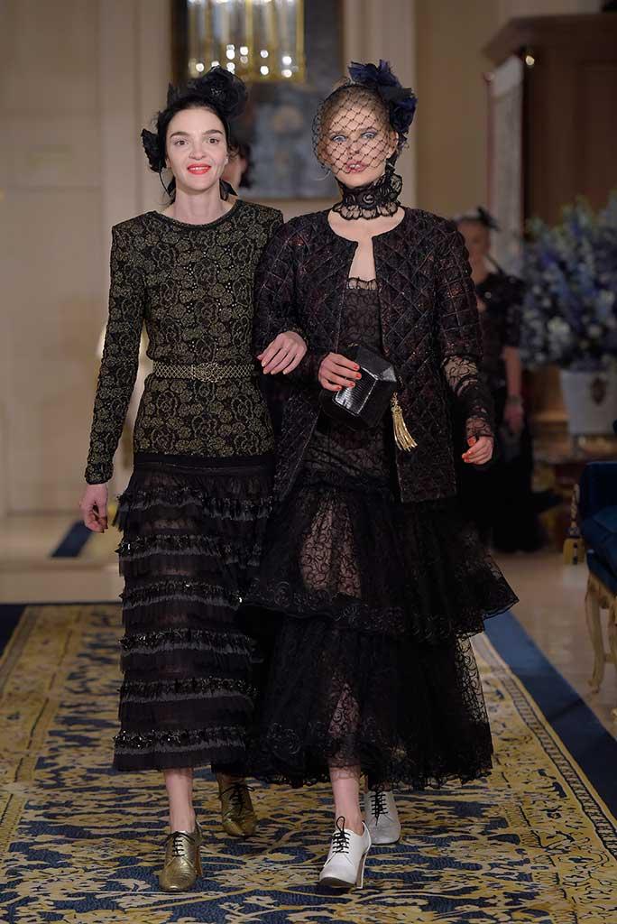 maria carla boscono Chanel 2016 Metiers d'Art.
