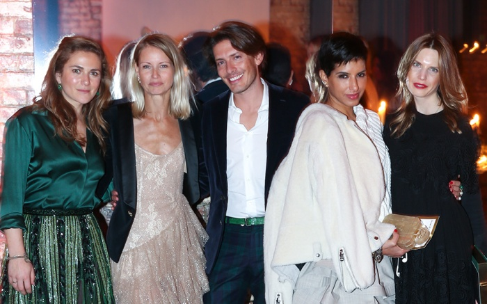 Claire Distenfeld, Holli Rogers, Edgardo Osorio, Princess Deena Aljuhani Abdulaziz and Pascaline Smets