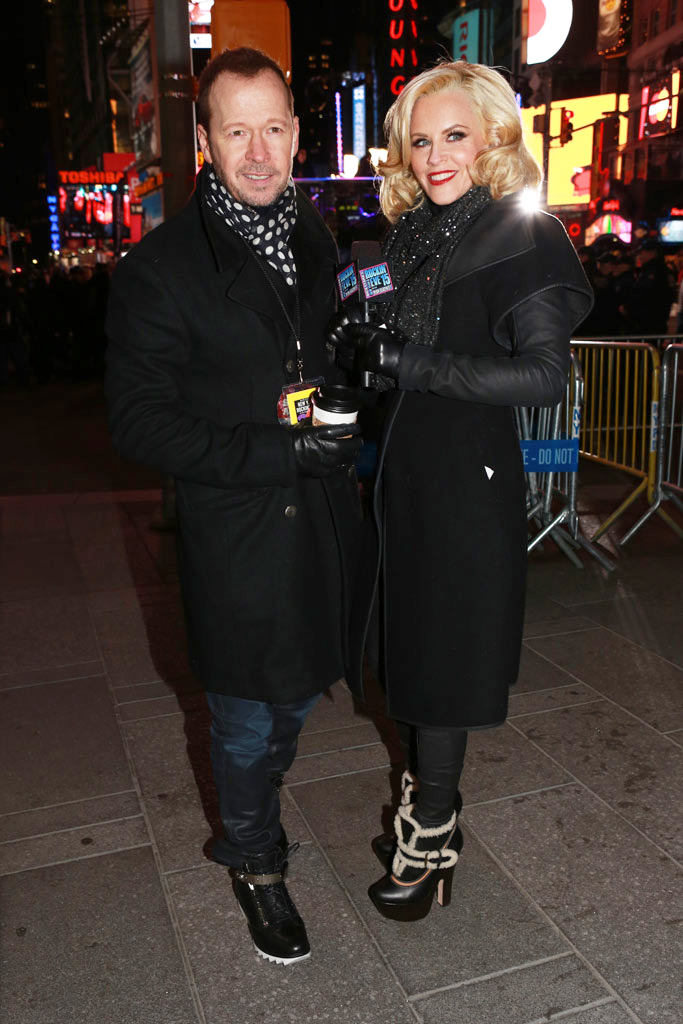 Jenny McCarthy New Year's Eve 2014