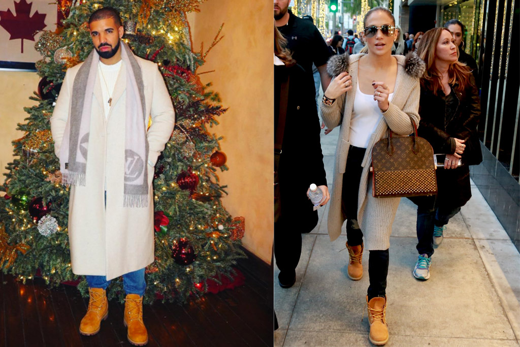 4 Times Drake And Jennifer Lopez Wore The Same Shoes Photos Footwear News